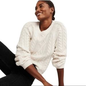 ANTHROPOLOGIE knit sweater thick